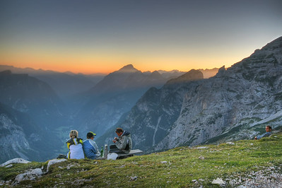 Mountaineering in the Julian Alps - Sep 2009