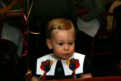 Mary's 1st Birthday