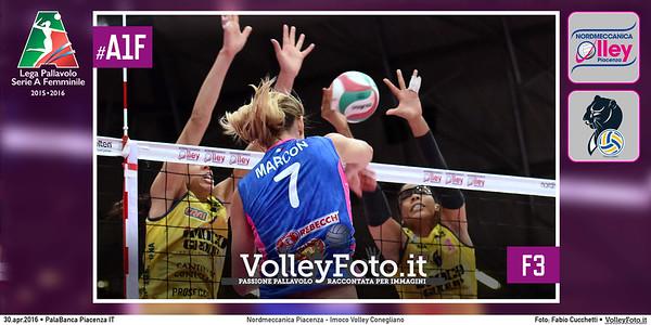 Nordmeccanica Piacenza - Imoco Volley Conegliano   F3 #Finale #MGSVolleyCup #A1F
