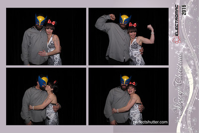 Windsor, Ont: Electromac Christmas Party 2016, Photo Booth Rental