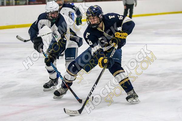 Foxboro-Blue Hills Boys Hockey - 02-20-19
