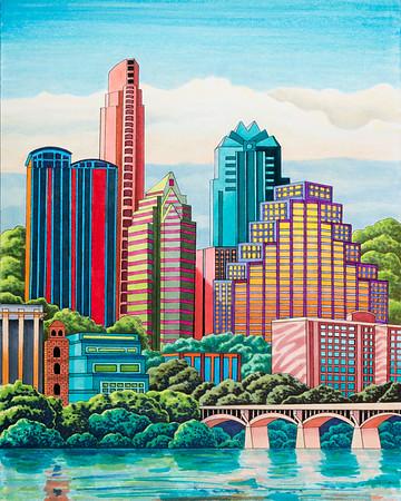 Monica's Cityscapes