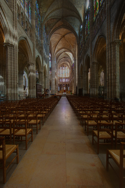 Paris, Saint-Denis Cathedral Nave and Choir