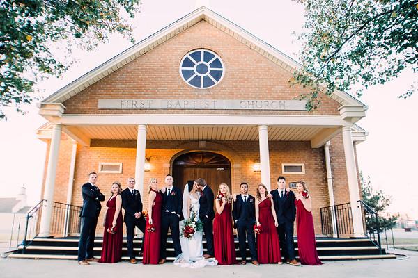 Portraits: Wedding Party