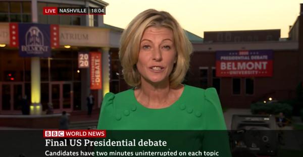 Debate 2020 News Coverage Screen Recording