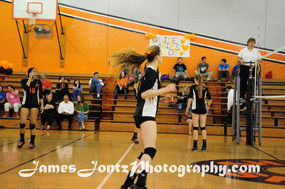 2013 Girls Volleyball vs Temple City