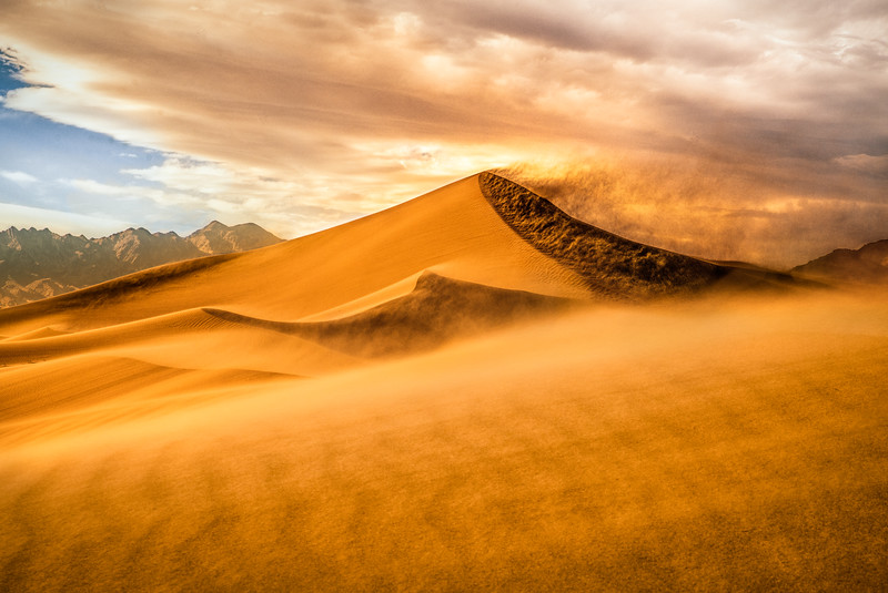 Sandstorm at Ibex 3