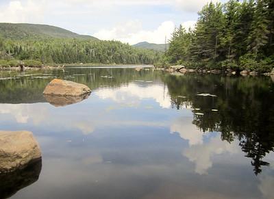 Flat Mountain Pond hike