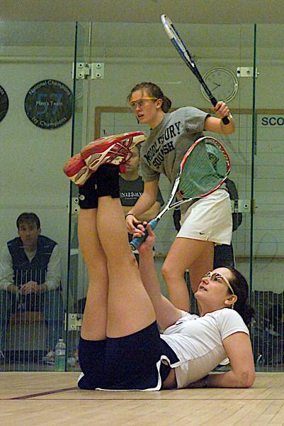 2010-02-26 Laura Robinson (Mount Holyoke) and Kathryn Bostwick (Middlebury)