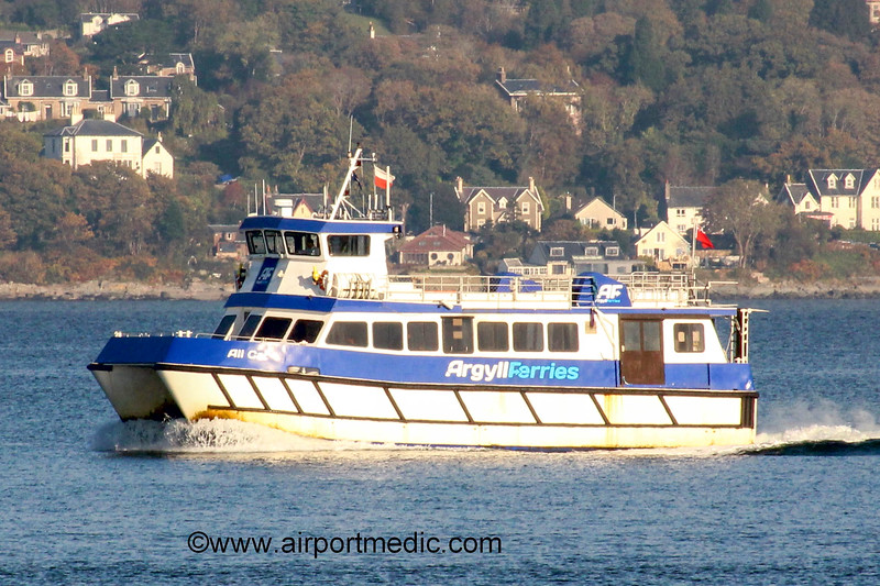 MV Ali Cat Argyll Ferries on the River Clyde