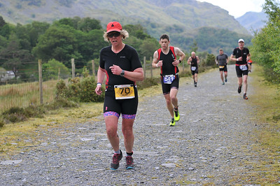 Sportpursuit Slateman Triathlon - Savage Quarry Run