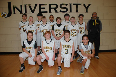 U HIGH MIDDLE SCHOOL BASKETBALL 2014