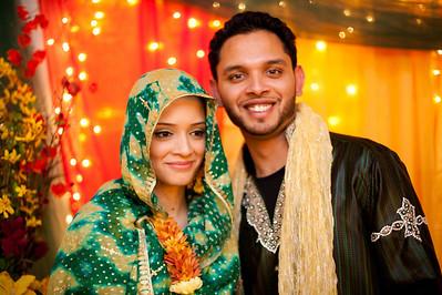 Tahira & Hammaad Mehndi