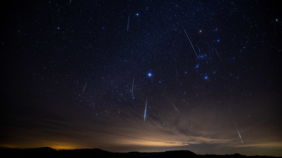 Geminids Meteor Shower - December 2020