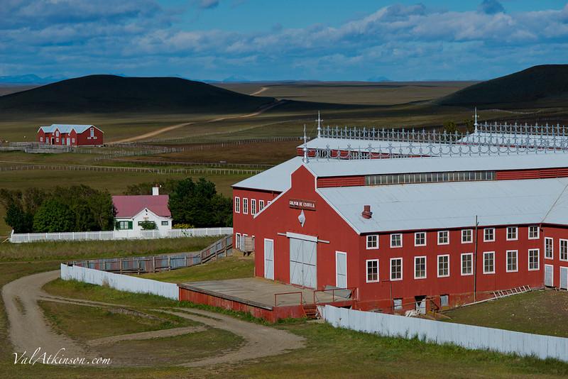 Maria Behety sheep shearing barn, Largest in the world
