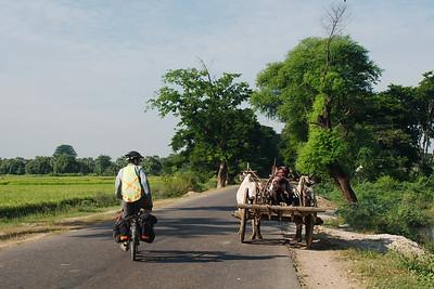 Mandalay to Bagan via Myingyan