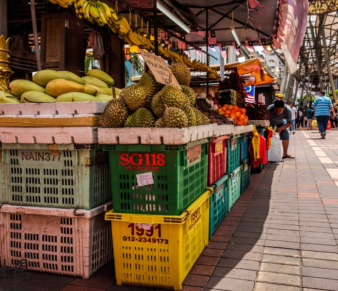 Market fruit stand