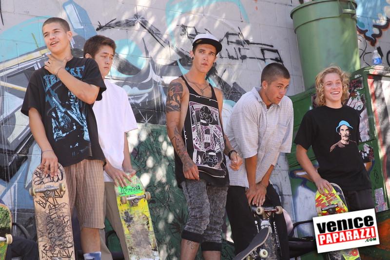 09.05.09  Venice Skate Fundraiser.  Venice United Methodist Church.  Murray Family (35).JPG