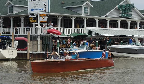 June 17, 2017, Fish Festival Crazy Crafts, Wood Boats
