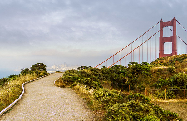 Golden Gate Bridge @ Headlands