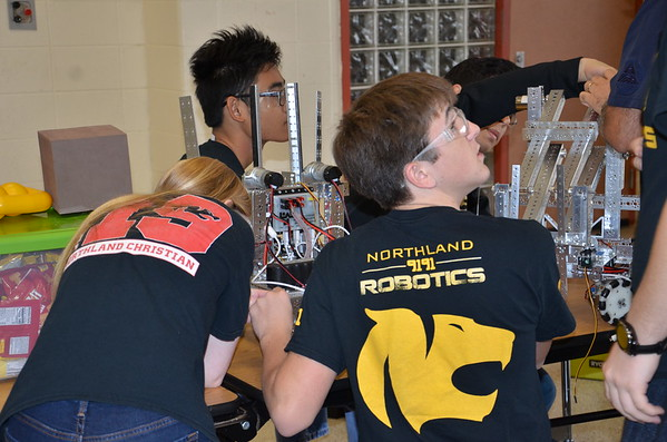 HS Robotics competition: 11-17