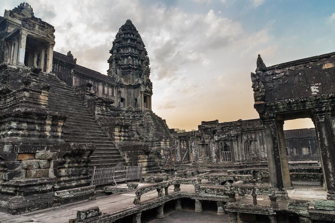 Angkor Wat Interior Courtyard