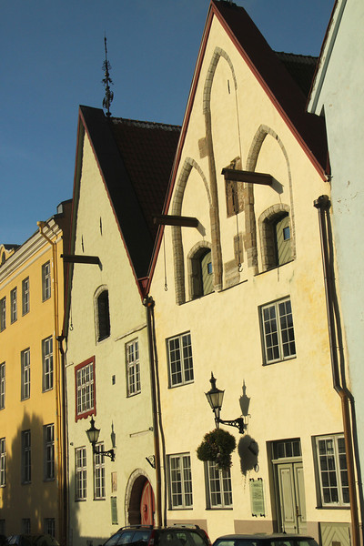 Medieval houses in Old Town -Tallinn, Estonia