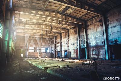 Adobe Stock - Abandoned Buildings
