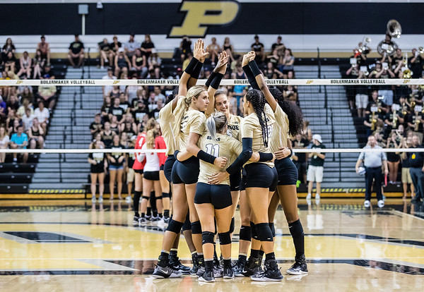 Purdue Volleyball vs Ohio State 2017-9-21