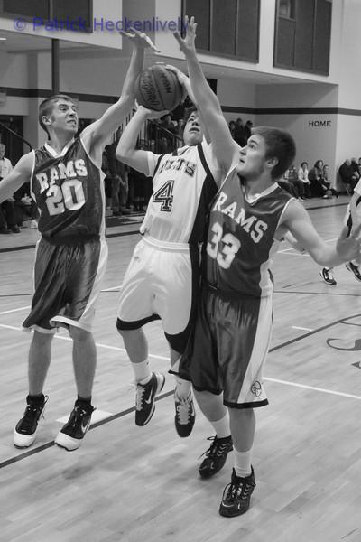 2011-01-21 Men's JV And Varsity Basketball