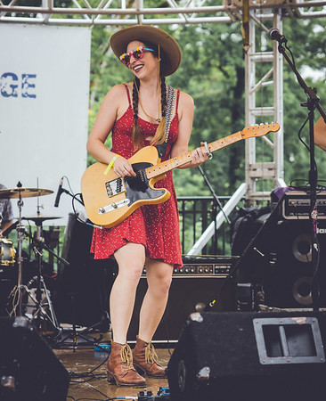 Angela Perley and the Howlin' Moons - 6-20-15 Creekside  Blues and Jazz Festival