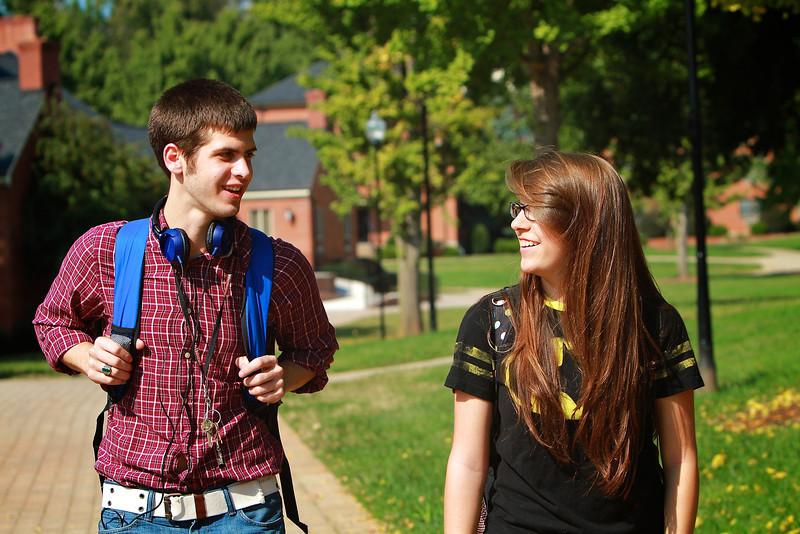 General campus shots; Fall 2013.
