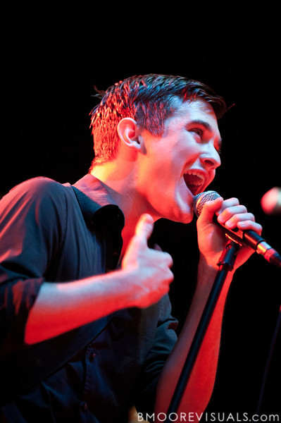 Chris Farren of Fake Problems performs on October 15, 2010 at State Theatre in St. Petersburg, Florida.