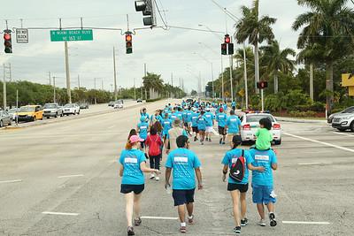"03-22-14 ""Walk In My Shoes"" Aventura Mall to Betty T. Ferguson Rec. Complex Miami Gardens by Omar Vega"