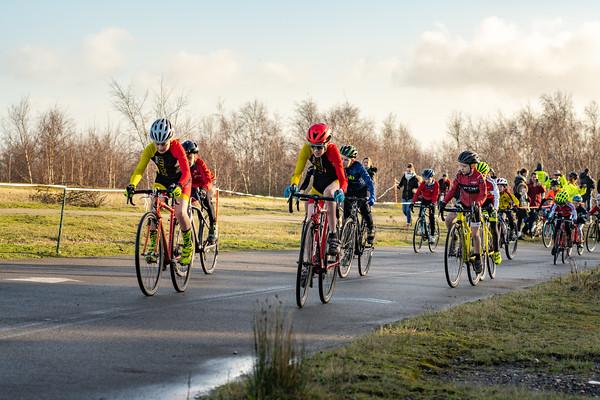 East Kent Cyclocross Betishanger Deal, The Kids Racing