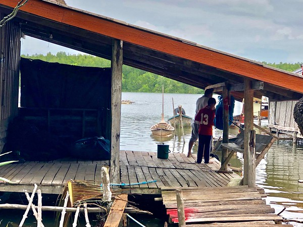 Solar Powered Muslim Fishing Village