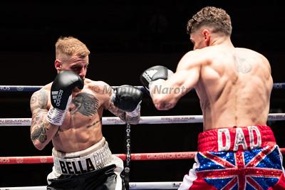 Midlands Area Super Featherweight title - Leo D'Arlanger vs Josh Baillie