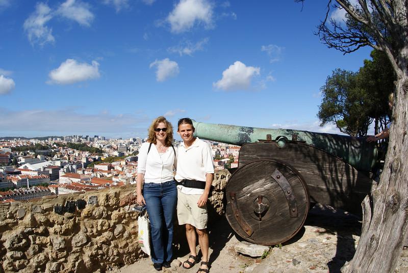 Lisbon, Portugal.  St. George's Castle.