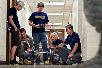 28186 WVU Statler College  Lunabotics Robot Team March 2012