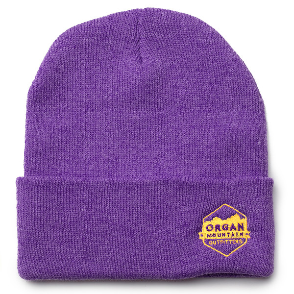 Outdoor Apparel - Organ Mountain Outfitters - Hat - 12 Inch Knit Beanie - Heather Purple.jpg