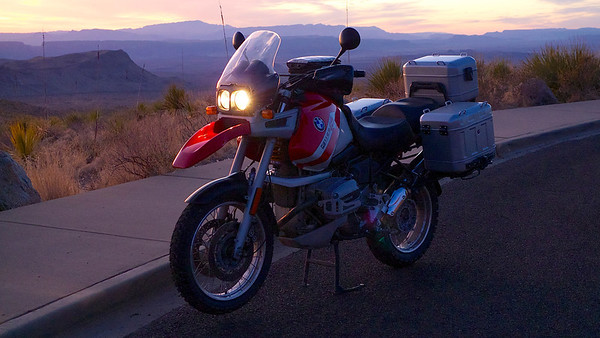 1998 BMW R1100GS 75th Anniversary Ediition