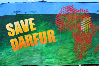 "Darfur ""Tents of Hope"" gathering in DC"