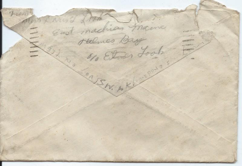 Misc Envelopes found giving a Duty Station Timeline
