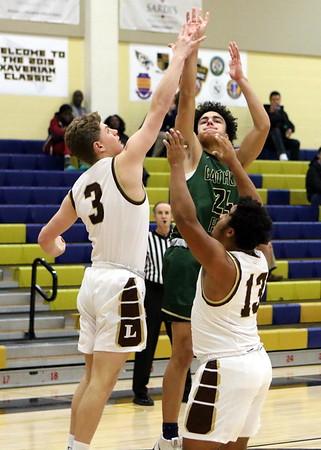 2019-20 Basketball Xaverian Classic Landon 48 v St John's Catholic Prep 46