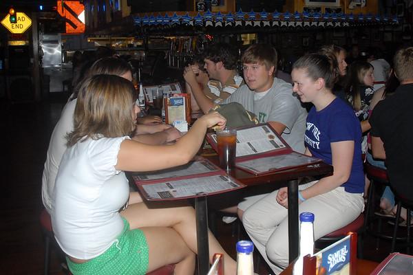 2007-08-10: Senior Night