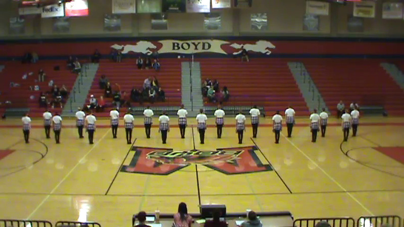 Bailadoras Hip Hop 1/30/15 BBall Game
