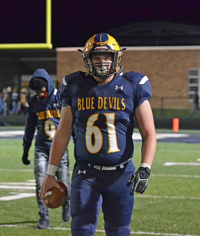 . Paul DiCicco - The News-Herald Photos from the Wickliffe vs. Black River Division V regional semifinal football game on Nov. 10.