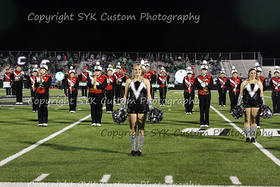 CHS Band vs West Branch
