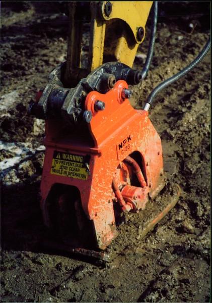 NPK C2D compactor on Cat mini excavator (2).JPG