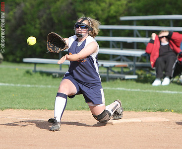 Penn Yan Softball 4-17-12